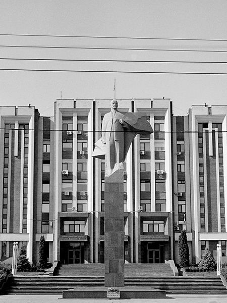 Tiraspol, Transnistria/Moldova. View this on the map