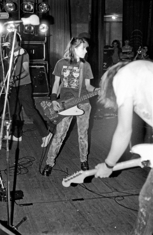Sonic Youth in Kiev, 14 April 1989 Photo by Alexej Zaika
