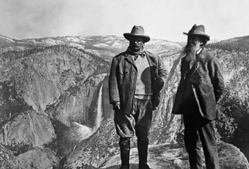 TEDDY AND JOHN MUIR