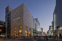 New Louis Vuitton Matsuya Ginza (completed August 2014) by Jun Aoki.