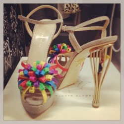 A bird in the heel is worth two in the bush. #CharlotteOlympia Cruise '13