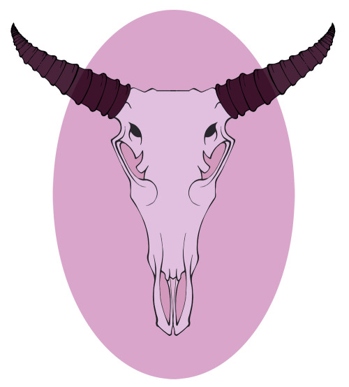 Just playing around with a deer head. I'm practicing more graphic work. Yeesh, I'm so not used to this.
