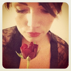 kiss from a rose …