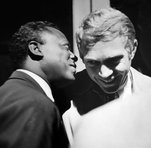 Miles and Steve McQueen