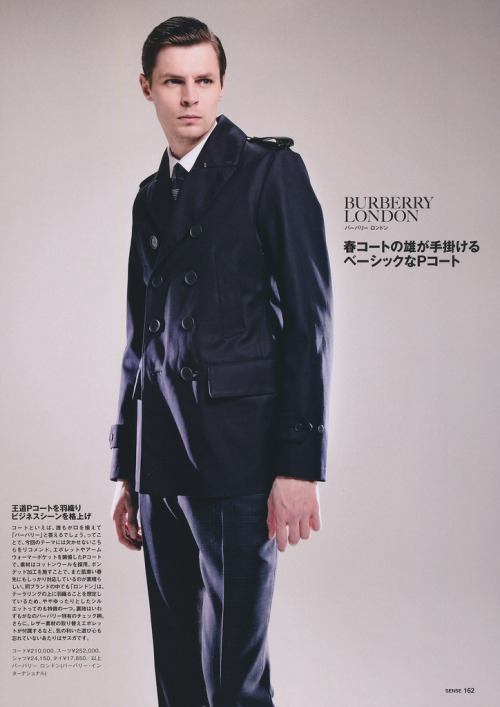 Adrian Wlodarski for SENSE February 2013 by Rrosemary