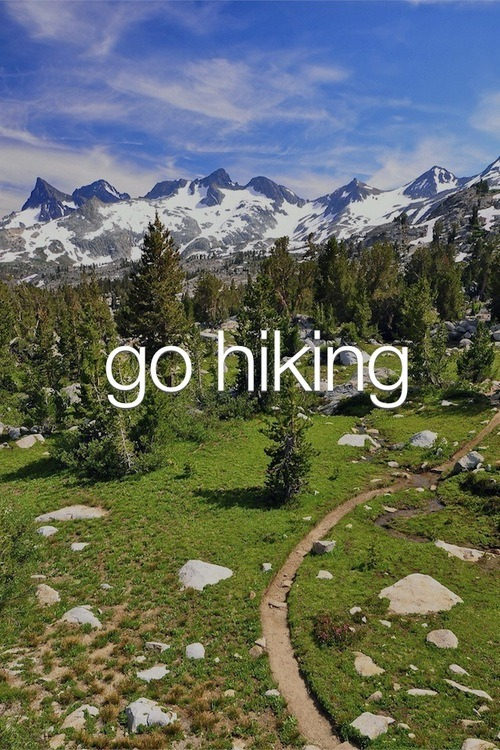 meditationsinwonderland:  letsgoforahike:  Let's Go For A Hike  I miss summer hikes… Can't wait for those to come!