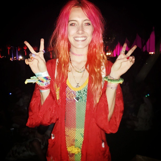 Thanks @chloenorgaard for making #Coachella more Coachella  (at Coachella Valley Music And Arts Festival)