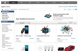 Wow - Appcessories has grown to encompass such a large market now that not just Target, but Apple themselves are acknowledging it - and with a specialised page as part of the official Apple Store: http://store.apple.com/us/browse/home/shop_ipad/ipad_accessories/app_enabled - This is now probably the best site on the web to explore this growing melding of digital and physical accessories. By grouping (currently) 91 of the best products together, you get the advantage of star ratings from other buyers, plus Apple's free shipping. Perfect in time for the holiday season?