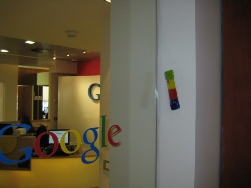 Mezuzah at Google's Office in Tel Aviv