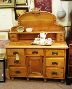 In Shop: Victorian Liconshire sideboard £395