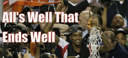 Kevin Ware's One Shining Moment. Great image!