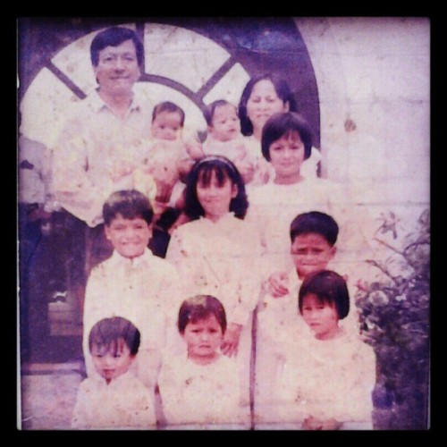 My Big Family! K fine, Find me!! (with my blonde hair! Haha) #throwbackthursday