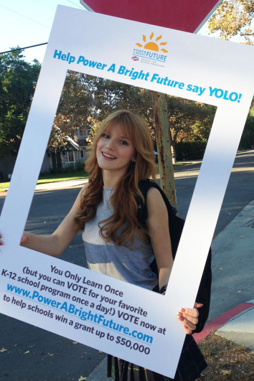 Giving back: Actress Bella Thorne helps schools ensure a bright future with her collaboration with Clorox »