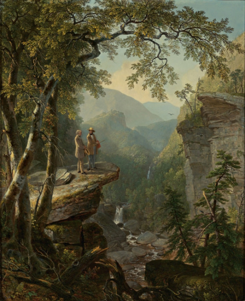 emiryrose:  Kindred Spirits by Asher Brown Durand