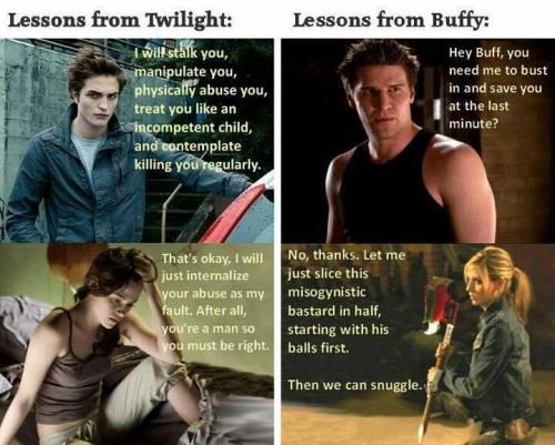 Oh Buffy, how I do love thee.