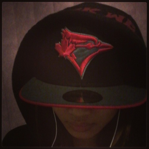 Lovin this new hat. #BlueJays #TBJ #hiphop