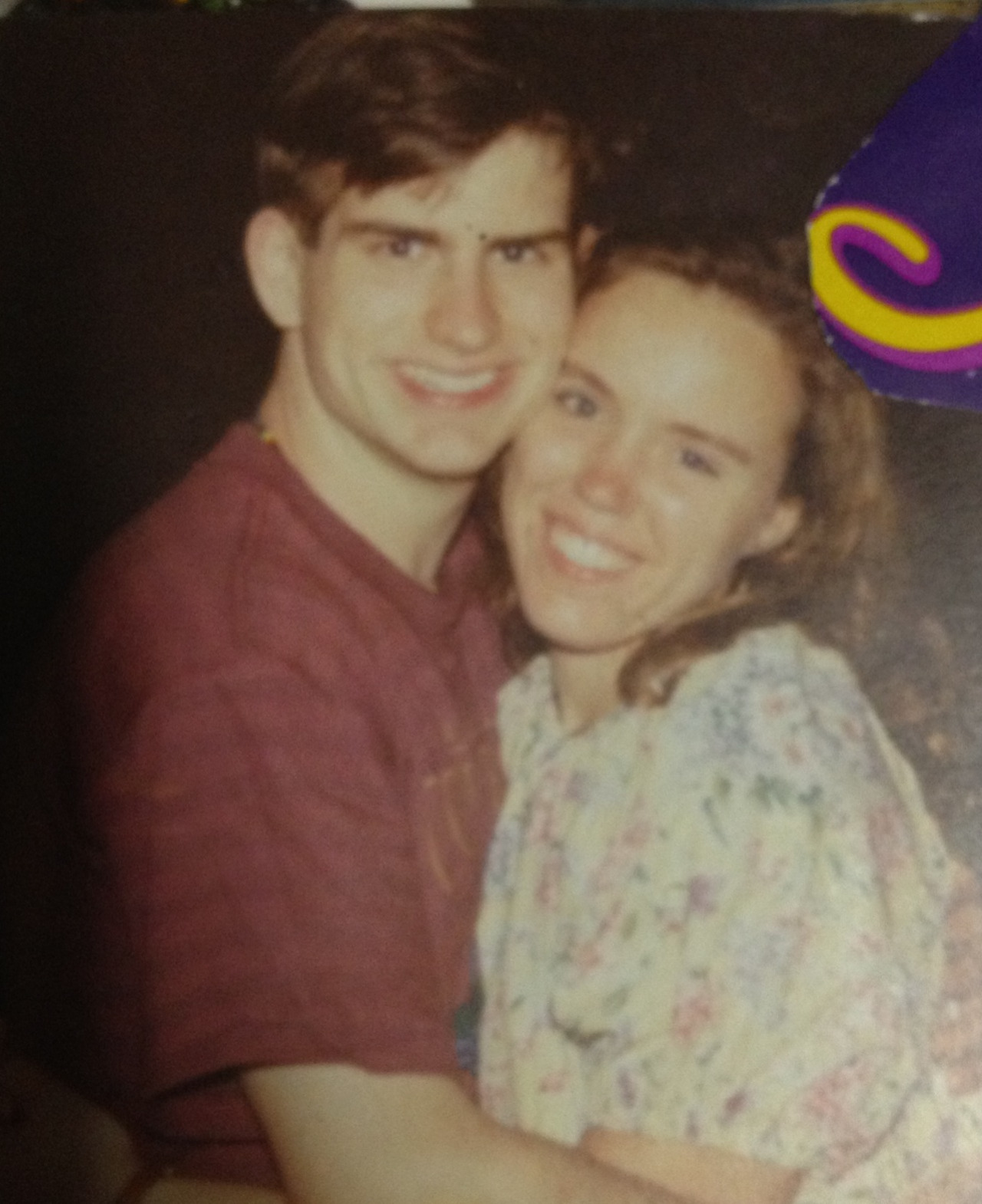 wifeoftj:  Happy Twentieth dating anniversary, babe! I love you.  TJ:  Reblogging this just so more of you can reply 'Gross' in case you missed it earlier.