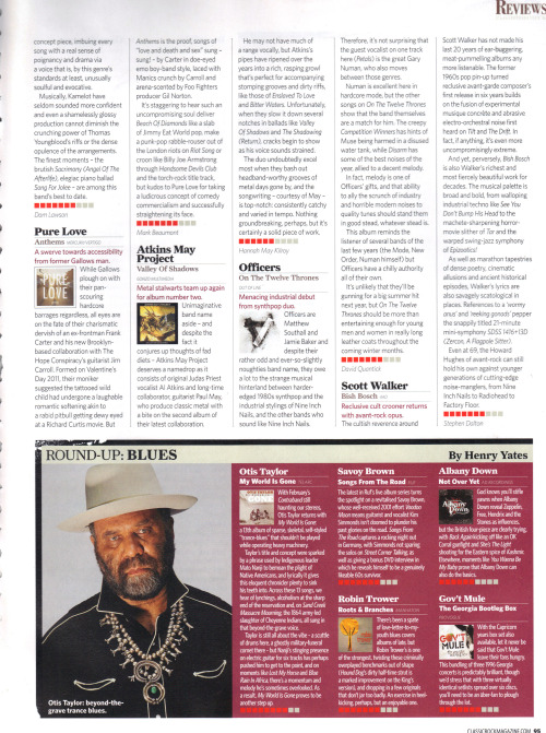 Thought we'd just share a couple of recent album reviews from Mojo and Classic rock Magazines. Not bad for our first go. We think album number two might just pull a few surprises though.