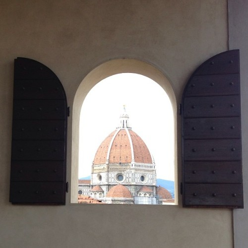 The Duomo by Brunelleschi. Sublime. #florence http://bit.ly/12p2s2f