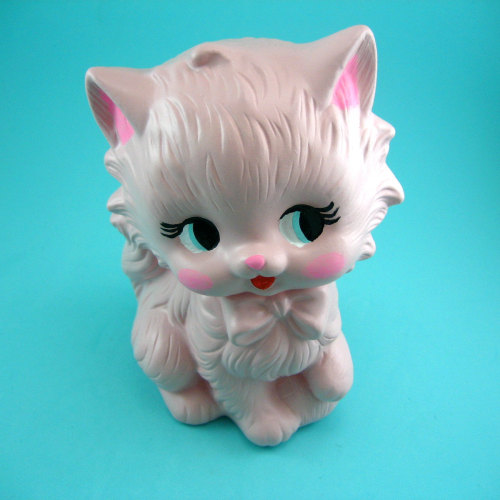 daizylemonade:  handmade ceramic kitty