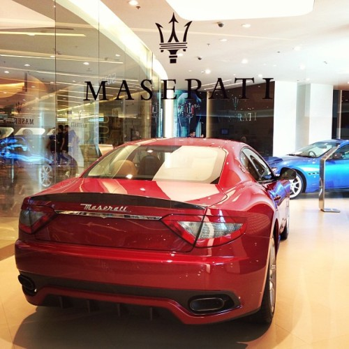 #Maserati 🚗 (at Maserati Showroom @ Siam Paragon)