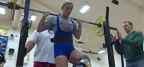 "A Washington powerlifter who once made a name for herself on the national stage is now making headlines for another reason.Ali McWeeny of Ellensburg was once a force to be reckoned with in the world of weighlifting, but that all changed three years ago when she lost her left leg in a boating accident.Doctors said she would never lift weights again, but McWeeny had other ideas. She's now competing again, and her inspirational story was enough to bring her former coach out of retirement.""I told her if you ever compete in a powerlifting meet again — a full meet — I'll come out of retirement and come lift with you. So that's why I'm here today,"" said her coach, Kevin Stewart.McWeeny was in Fife on Saturday for a meet, but simply attending the event wasn't enough — she wanted to test her limits.Balancing on one leg, McWeeny lifted 121 pounds. The lift was her best since the accident — a full 17 pounds more than her previous record.The event was proof that even gravity can't keep the human spirit down.""The only person that holds you back in life is yourself, and there's no limits to life,"" McWeeny said. ""Life is limitless and that's your choice to limit yourself or not.""In addition to her work in the gym, McWeeny is also reaching out to help others. She recently helped create the Ali McWeeny Award to honor others lifters who have overcome challenges in life. Click photo to read more/watch video"