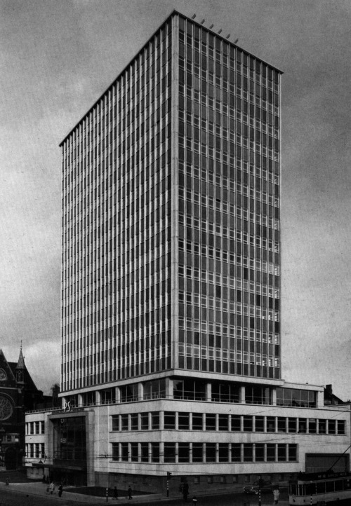Hugo van Kuyck, Office Block, Brussels, Belgium