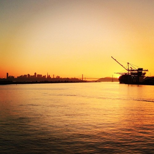 in a distant land (at San Francisco Bay Ferry - Alameda Main Street Terminal)