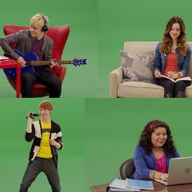 Found this! Maybe New Intro for Austin and Ally <3?