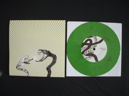 Aussitôt Mort / The Catalyst - Split 7""