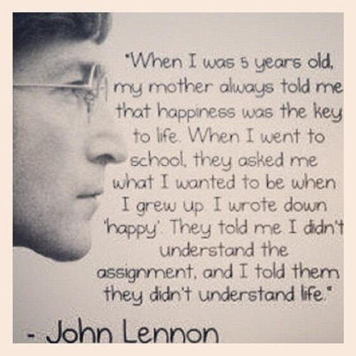 John Lennon - Happiness