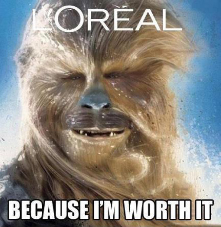 cosplayaustralia:  Loreal because you're worth it #OzCosplay #StarWars #humour