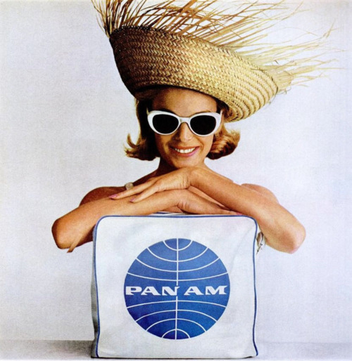 vintage-fashionista:  Pan Am advertisement, 1964