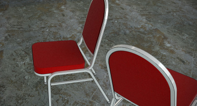 Classic Banquette Chair Classic chairs often used in banquette area in a hotel. Download the 3D model (available in .3ds, .3dm, and .dwg format) here.