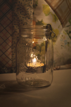 lovely lovely lovelytin tea-light-holder for a mason jar (from my love).