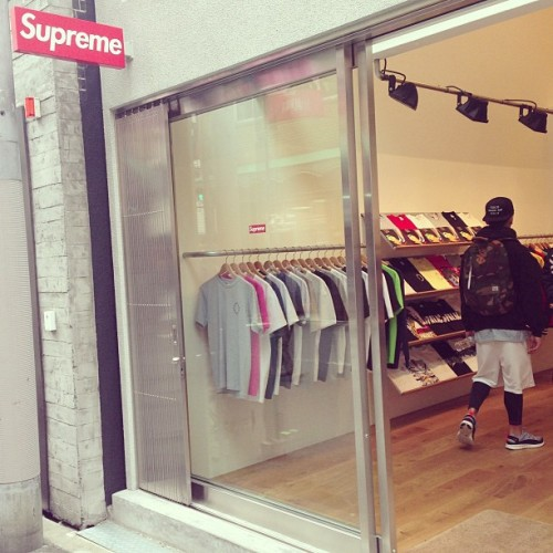pinkyagogo:  Time to go ape shit #supreme  That feeling :)