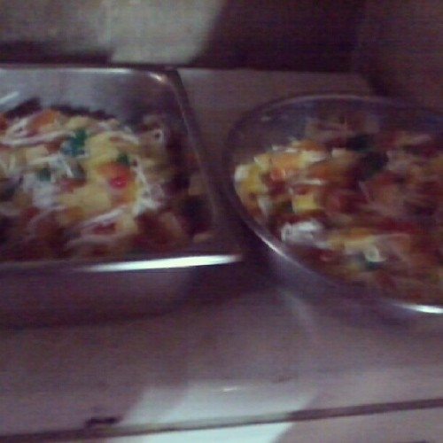 Fruit Salad for Noche Buena! Yummy! :)) :p #christmas #nochebuena #christmaseve #fruits #salad #yummy