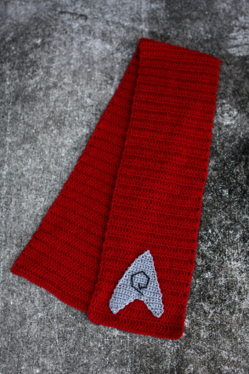Star Trek Engineering Officer Scarf