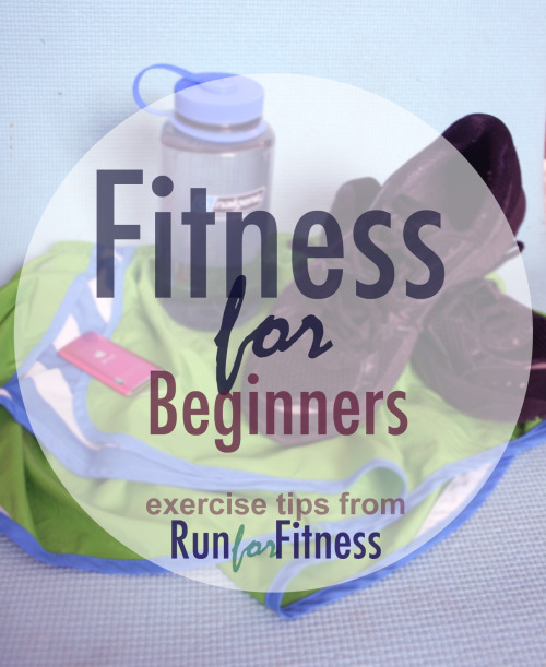 runforfitness: Start by setting realistic goals! If you'd like to be a runner, lose the muffin top, tone up your entire body or get back to your healthy weight… that's great! Congrats on deciding to take time to feel better about yourself! But no matter what your motivation, make sure you're not asking too much of yourself. If you have unrealistic expectations of yourself, you are setting yourself up to fail! Instead, set yourself up to win!  Plan to start small and gain endurance over time.If you haven't been moving your body much, you may not be able to do the exercises you'd ultimately like to be dedicated to. Your first couple of weeks working out, keep your workouts under 30 minutes! Your body needs to get used to moving! Start with the resistance low/medium and work your way to feeling comfortable working harder.  Be consistent and COMMIT!A workout plan sounds great until the plan is too overwhelming for you to continue! If you plan to move your body every day, you'll soon form a habit of it, and you might even start to feel cravings for exercise once your body realizes how much better it feels when it moves! Listen to your body.When you're exercising, you want to make your body work, but not so hard that you can't catch your breath, you feel pain in your limbs or you feel dizzy. Form is important!For cardio, make sure your back is straight and you're engaging your core as you exercise. For strength training, make sure your posture is always good, and try to engage the muscles being targeted. If an exercise is too hard or you're using too much weight, no one is winning because you're not exercising the proper muscles. You are the one who may end up injured if you do the exercises the wrong way. Stay safe! Be positive.Don't beat yourself up for missing a workout- that will make you want to go LESS next time! Don't tell yourself that you are currently worthless because of how your body looks! With that mentality, you may never be happy! Appreciate your body and what it CAN do, and feed it properly, move it often, and know that you owe happiness only to yourself. Try to set up situations in which you'll succeed.If you are not a morning person but you want your body to suddenly wake up every day at 5:30AM to get to the gym, you might have some rough starts! Instead, try putting yourself in situations where it's an outlet to exercise, you're exercising at a time of day when you have a lot of energy, or you plan to meet a friend at the gym. However you will succeed! Cardio AND strength training are important!Cardio will help keep you lean and mean- not to mention be a real fat blaster if you do it right!Strength training will, well, make you strong! Simple day to day tasks like lifting things, standing up straight, wearing sleeveless dresses and having sex (for those of you having it) will be way easier if you dedicate two days per week to toning! Stay Hydrated.I know you've heard it a million times before, but while you exercise, you're losing a lot of water, and that needs to be replaced! Try filling up two water bottles every night, putting them in your fridge and having them ready for the next day!  Fuel yourself.You don't want to be completely empty when you show up to do your workout, but if you're having a meal beforehand, make sure you wait about an hour before you start exercising. To start off with, a full stomach while exercising might get upset. If you need to eat something before hitting the gym, though, a banana (maybe add some peanut butter) is a great, easily digested option.After your workout, make sure to eat some carbs and protein (egg and toast, yogurt and granola, good cereal.) If you feel ravenous after your workout, you should probably be eating more beforehand, but remember, try to keep big meals an hour apart from your workout. VARY YOUR WORKOUTSTry lots of different kinds of cardio -running, rowing, walking, elliptical machine, biking… anything that gets your heart rate up! To boost strength try yoga or pilates and look up videos of routines you can do at home. Whenever you can, play sports for recreation! Soccer, tennis, baseball, basketball, volleyball- all of these are fun and even if you don't know what you're doing at least you will be running around. Also, you can look into rock climbing, rowing, kayaking, swimming or hiking. If you'd ever like help with an exercise plan, we can work together to find out what may work for you, personally!RunforFitness