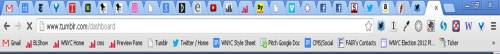 wnyc:  Mid-afternoon tab check! We're at 28. How many tabs do you have open right now?
