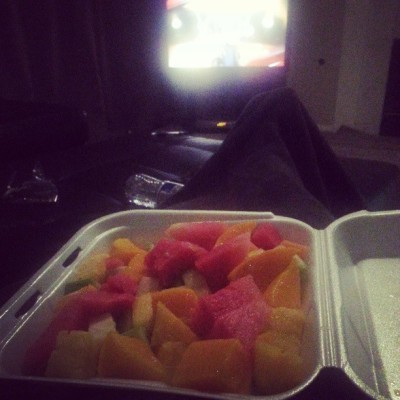 I swear I do more than eat but all this fruit excites me lol last one!
