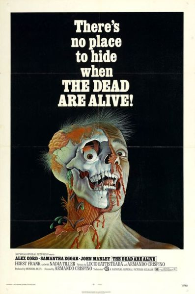 beautyandterrordance:  The Dead Are Alive, 1972