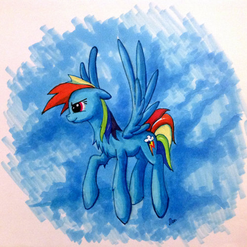 Copic Dash by ~kiriALL