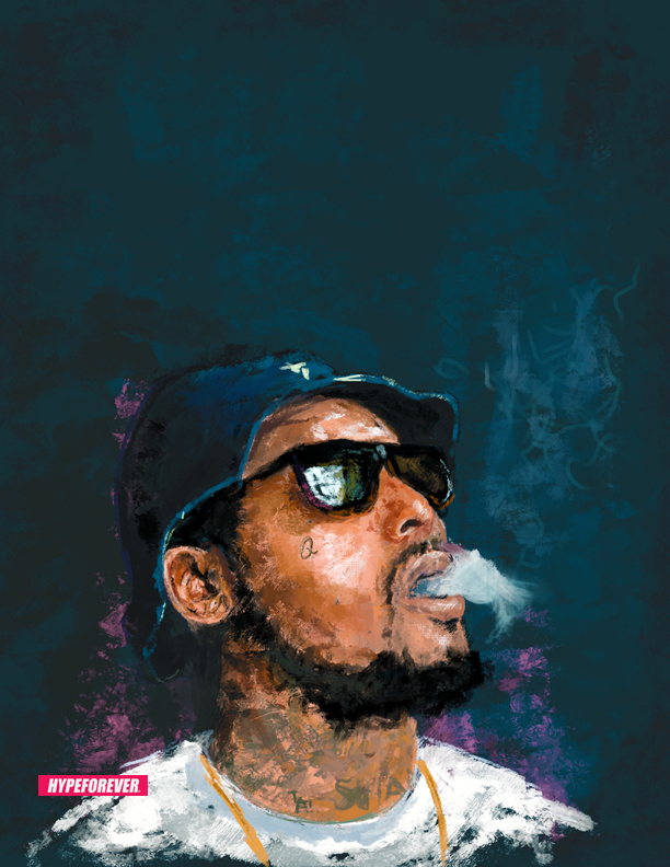 hypeforever:  digital oil of schoolboy q