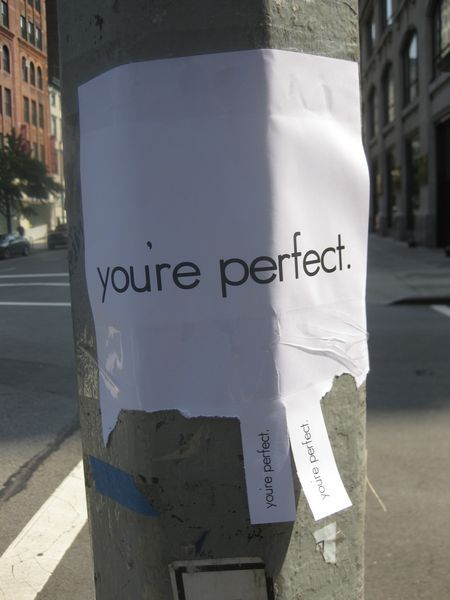 nevver:  Take one  No one is perfect