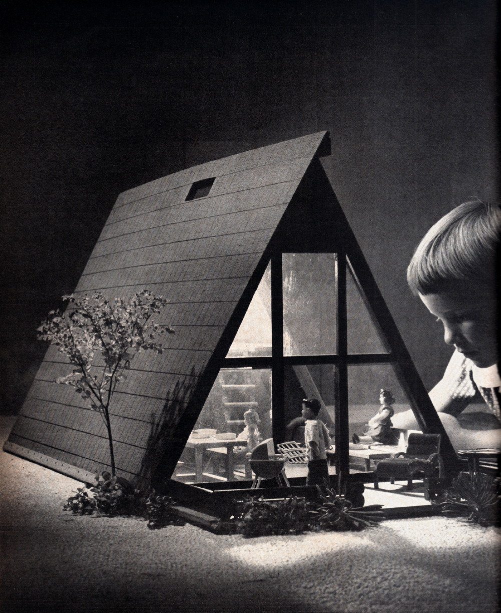 j-p-g:  A-Frame Doll House, 1961 (via Miehana)
