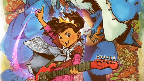 """The Princess Who Saved Herself"", by Greg Pak and Jonathan Coulton. They're doing it as a stretch goal for the CodeMonkey Kickstarter."