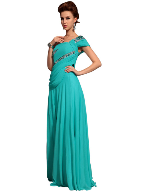 GLENDA IN GREEN ASYMMETRIC EVENING DRESS  SKU# 30573 Be the first to review this product Availability: In stock £228.00