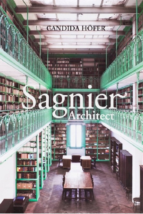 SAGNIER ARCHITECTEnric Sagnier (1858-1931) was the most prolific architect, not only of his time, but in the history of Catalonia, however for decades his extensive and elegant work was eclipsed by that of his famous contemporaries, starting Gaudí.The publication, Sagnier Architect, collects the images captured in the interiors of the seven buildings that best explain and condense their work, by German photographer Candida Höfer (Eberswalde, 1944).