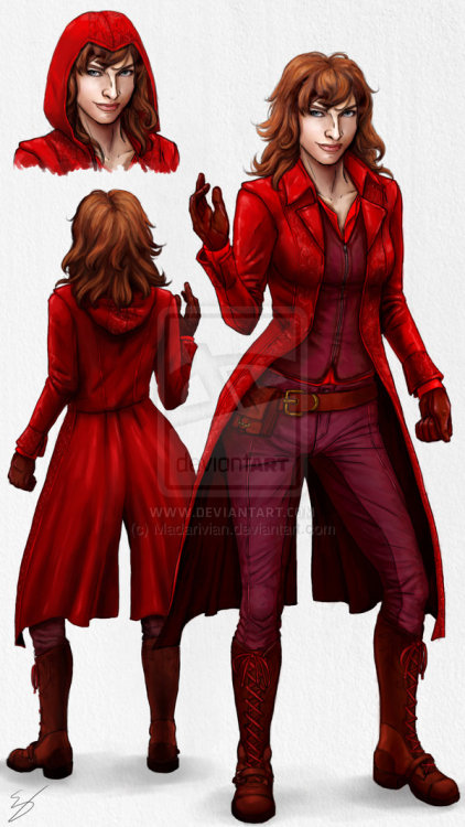 lucascage:  Scarlet Witch MCU by ~Madarivian
